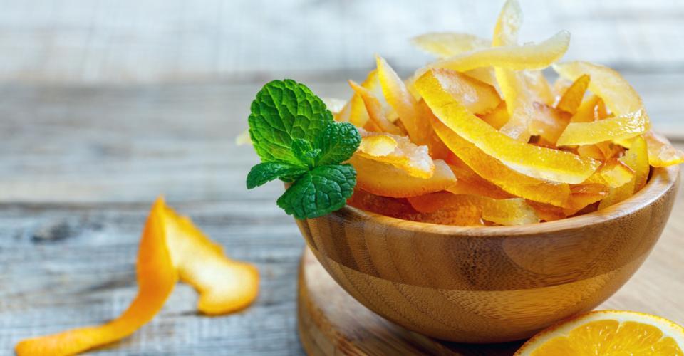 Candied Orange Peel - Full Circle Ingredients Ltd